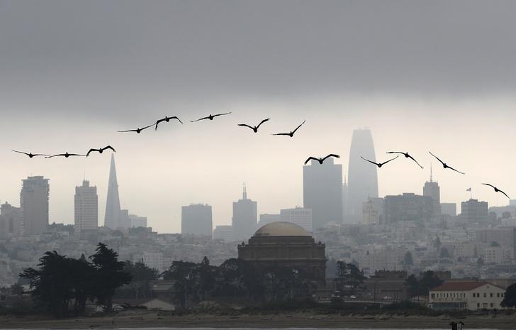 Фото №1 - Туман над Сан-Франциско
