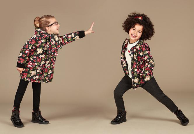 Фото №13 - Модные школьники: детская коллекция Dolce&Gabbana осень-зима 16/17