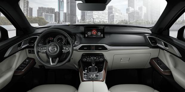 Фото №4 - Mazda представляет новый флагманский кроссовер CX-9