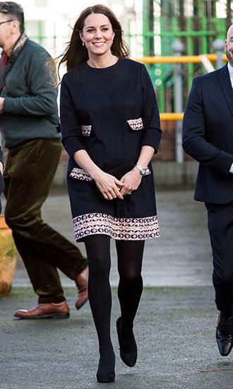 Фото №5 - 5 причин, почему Кейт Миддлтон не ругают за мини-юбки