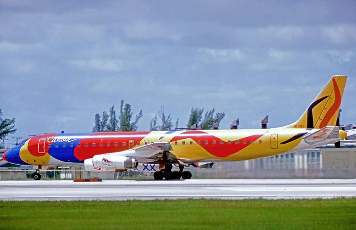 Фото №5 - Цвета в небе: зачем, как и в какие цвета красят самолеты