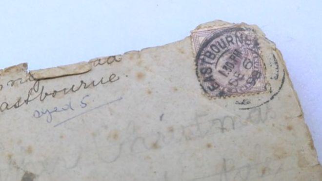 Фото №2 - В Великобритании нашли письмо Санта-Клаусу, которое  было написано 120 лет назад
