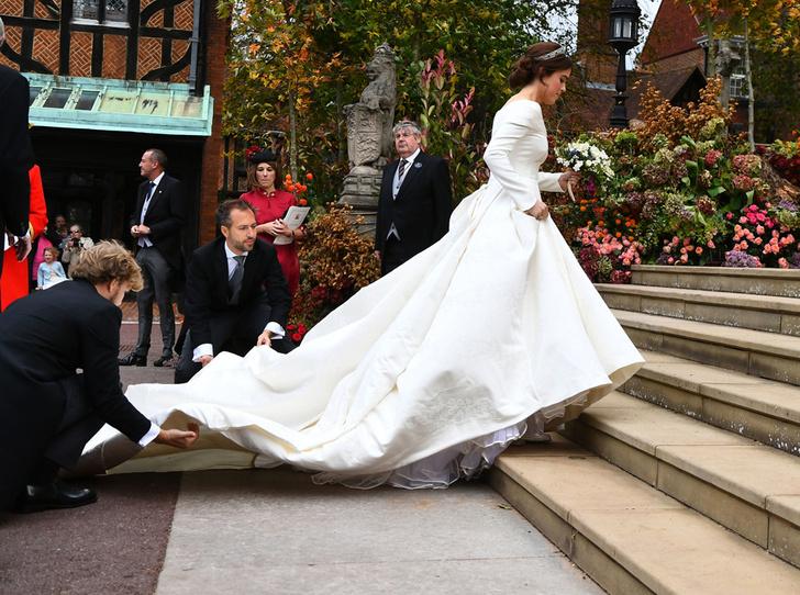 Фото №17 - Интересные факты о свадьбе принцессы Евгении и Джека Бруксбэнка