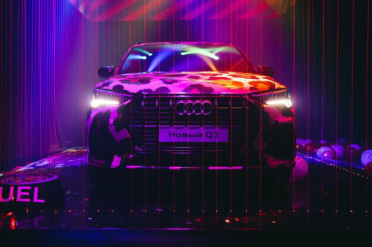 Фото №1 - Яркий дебют нового Audi Q3 в России