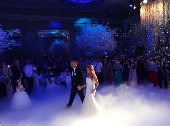 Фото №1 - Ксения Бородина вышла замуж за Курбана Омарова