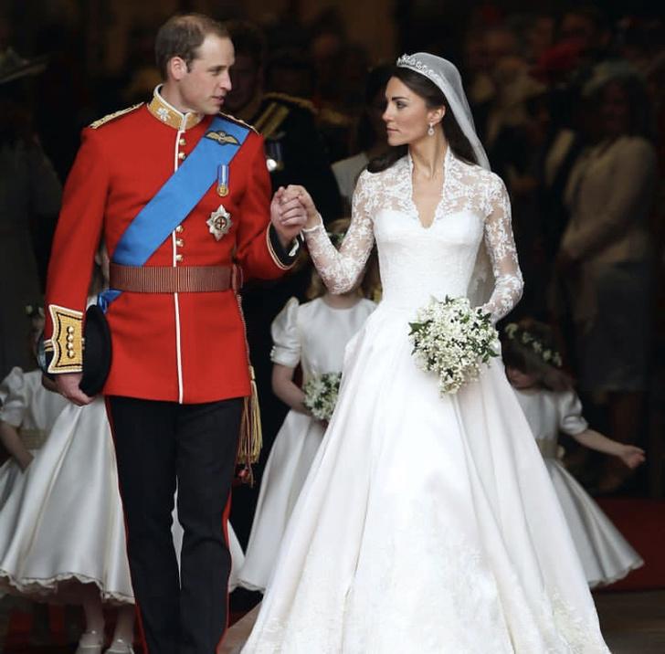 Фото №1 - 10 интересных фактов о свадьбе принца Уильяма и Кейт Миддлтон
