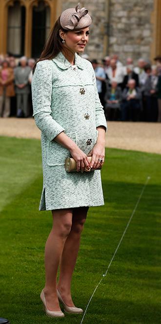 Фото №24 - В модном положении: две беременности герцогини Кембриджской (сравним?)