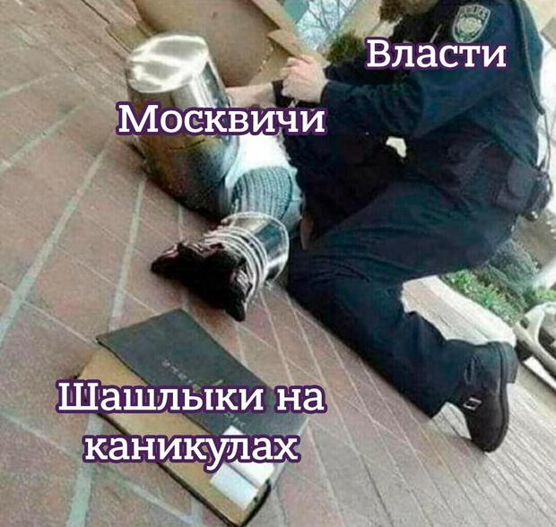Фото №5 - Лучшие мемы о карантине в Москве