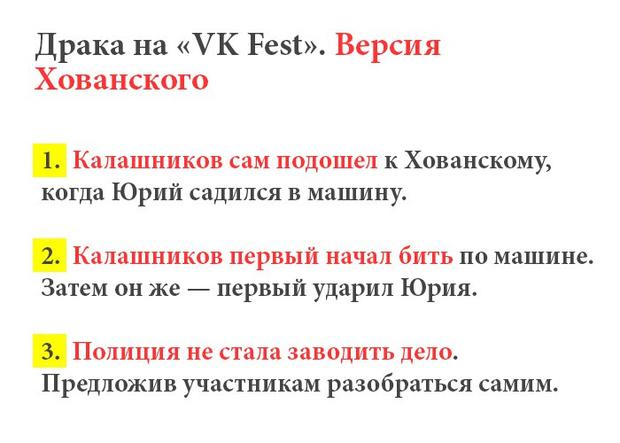 Фото №5 - Что произошло между Юрой Хованским и Кириллом Калашниковым после VKfest?