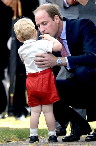 Фото №38 - Самые трогательные моменты крестин детей герцогов Кембриджских