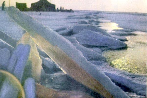 Фото №1 - Палатка на тонком льду