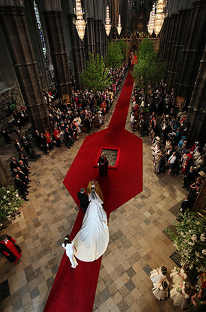 Фото №17 - Факты о свадьбе Кейт Миддлтон и принца Уильяма, о которых вы могли не знать