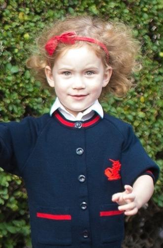 Фото №4 - Еще одна из рода Виндзоров: тетя принца Джорджа стала его одноклассницей