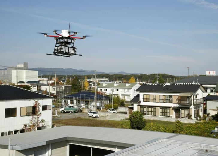 Фото №1 - В Японии появились дроны-почтальоны
