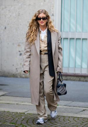 Фото №3 - С чем носить бежевое пальто: модные идеи на любой случай