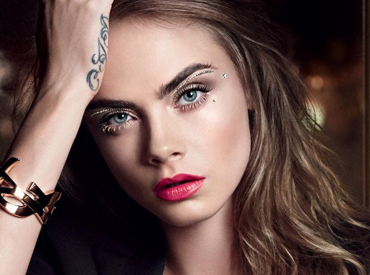 Фото №1 - Праздничный макияж по цвету глаз от визажиста YSL