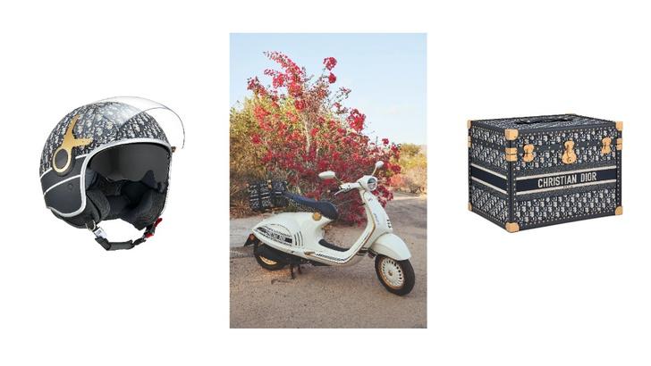 Фото №2 - Крупным планом: новый скутер Dior x Vespa
