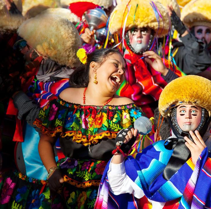 Фото №1 - Традиции: Мексика. Танцы в масках