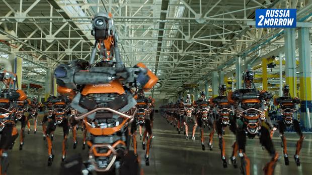 Фото №1 - Новое видео от создателей «Кибердеревни»: Наливкин, 20G и роботы