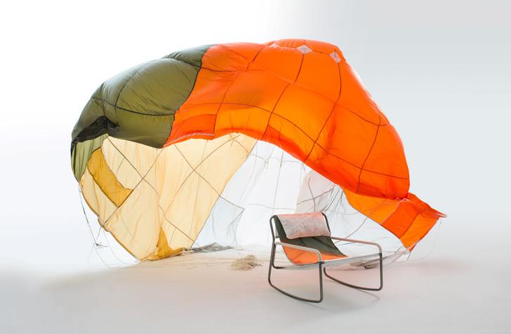 Фото №3 - Мебель из старых парашютов