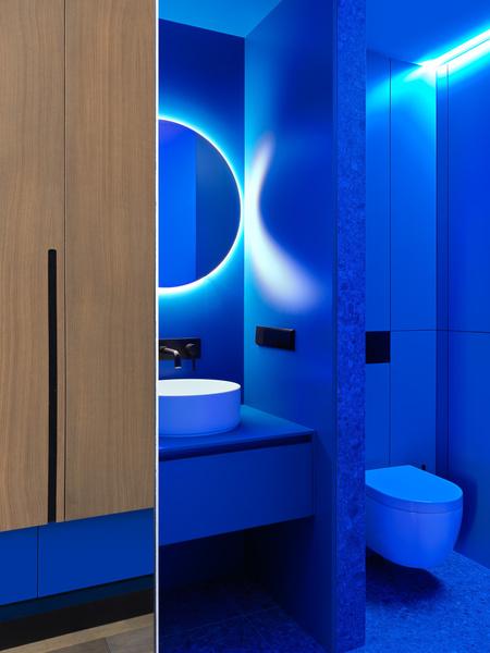 Фото №14 - Яркий минимализм: квартира 60 м² в Москве