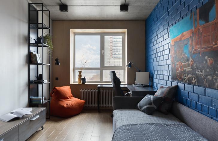 Фото №14 - Квартира в Перми 120 м² с панорамным видом на Каму