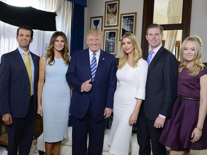 Фото №1 - 7 главных событий, которые произошли с семьей Трампа в 2020 году