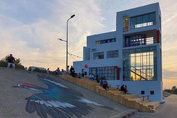 Фото №4 - В Нижнем Новгороде реконструировали здание судейской вышки