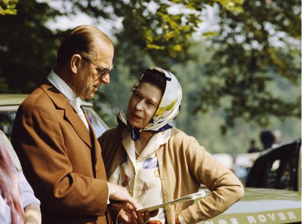 принц Филипп и королева Елизавета фото
