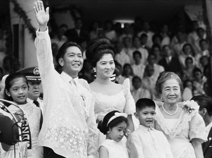 Фото №7 - Стальная бабочка Филиппин: взлеты и падения первой леди Имельды Маркос