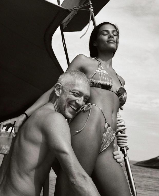 Фото №2 - Самая сексуальная поздравительная открытка— у Тины Кунаки и Венсана Касселя