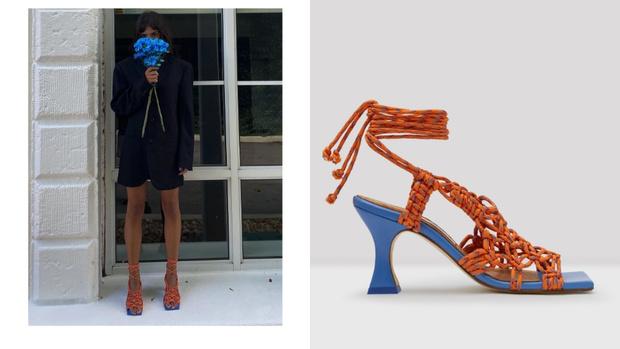 Фото №1 - Звезда инстаграма Джен Себаллос показывает самые модные босоножки этого лета (и с чем их носить)