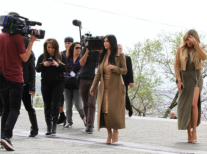 Фото №6 - Ким Кардашьян в Армении
