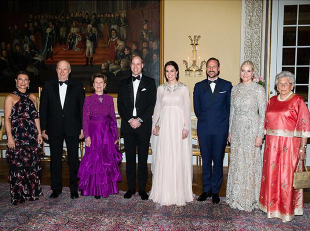 Фото №26 - Кейт Миддлтон и принц Уильям в Норвегии: день первый