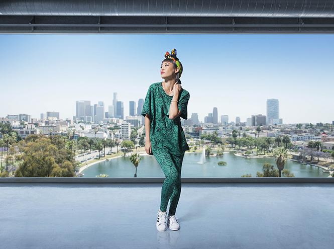 Фото №6 - Фаррелл Уильямс принял участие в разработке женской коллекции adidas Originals