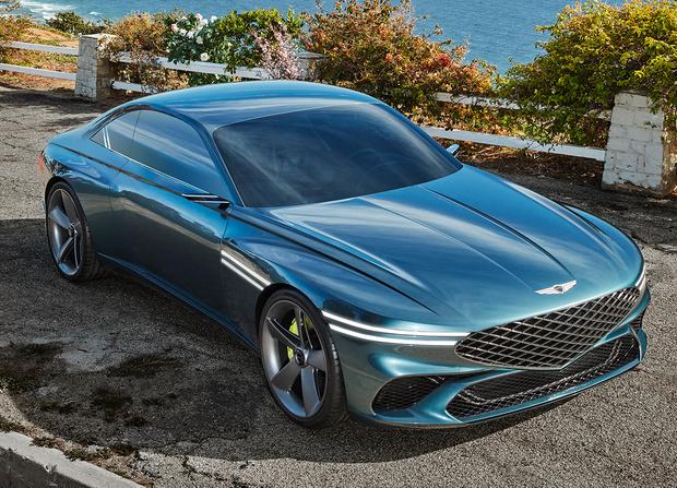 Фото №1 - Корейский Gran Turismo: новое купе Genesis взорвало Интернет