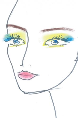 Фото №2 - Как повторить праздничный макияж Натальи Водяновой от Guerlain