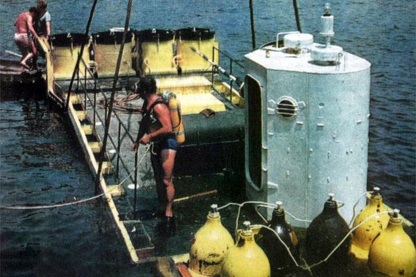 Фото №1 - Обыкновенный подводный дом
