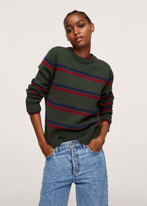 Фото №5 - Полосатый свитер— модное спасение от осенней хандры. И вот 10 классных вариантов на каждый день