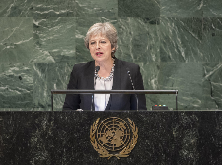 Фото №6 - Тереза Мэй: модная дипломатия и уникальный стиль главы Великобритании