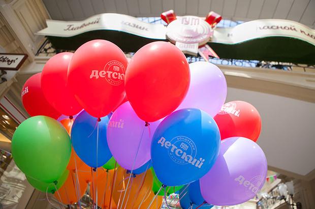 Фото №1 - Детский праздник в ГУМе