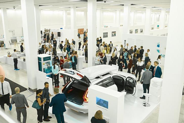 Фото №1 - Volvo Car Russia отказывается от использования одноразового пластика в офисе и на всех своих мероприятиях
