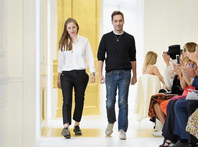 Фото №1 - Земной кутюр: показ Dior на Неделе высокой моды в Париже