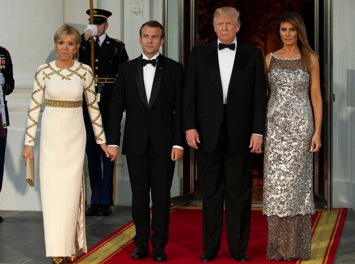Фото №8 - Как Трамп Макрона принимал: самые яркие детали госвизита французской Первой пары в США