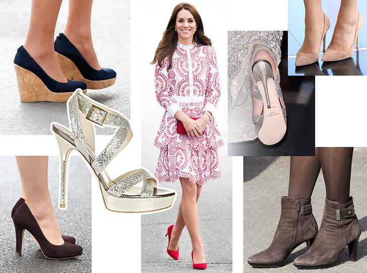 Фото №1 - Туфелька для Золушки: какую обувь носит Кейт Миддлтон
