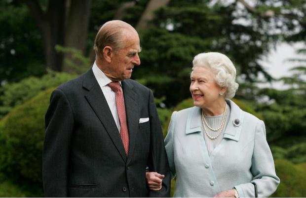 Елизавета II и Филипп фото