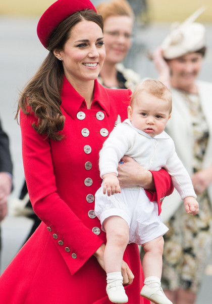 Фото №10 - Принц Джордж Кембриджский: три года в фотографиях