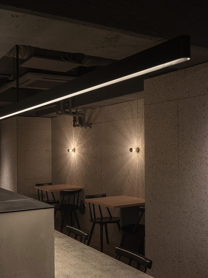Фото №5 - Минималистский ресторан Grillno в Токио