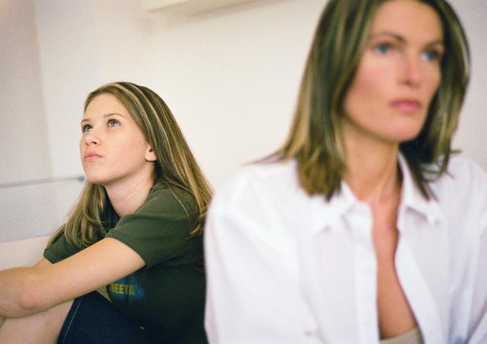 конфликты взрослой дочери с мамой
