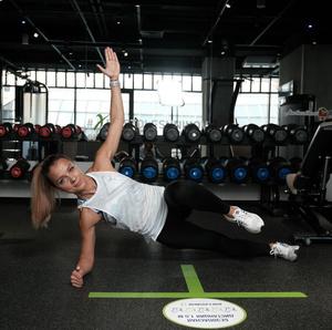 Фото №11 - Как избавиться от «ушек» на бедрах: упражнения на 5 минут